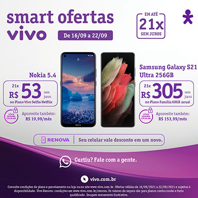 Oferta Smartphones Vivo
