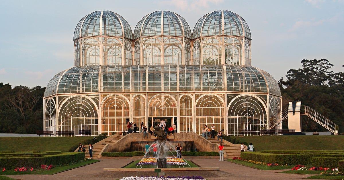 Apaixone-se pelo Jardim Botânico de Curitiba