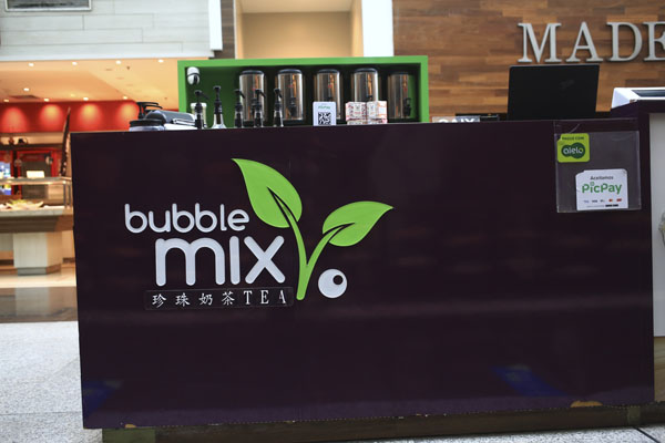 BUBBLE MIX TEA